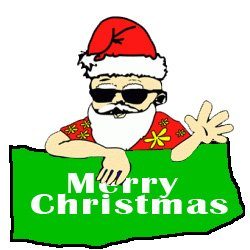 Christmas In July Santa Clipart.Christmas In July Retail Traffic Promotion
