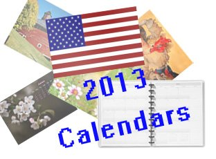 2013 Promotional Calendars