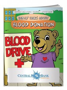 National Blood Donor Month Coloring Book