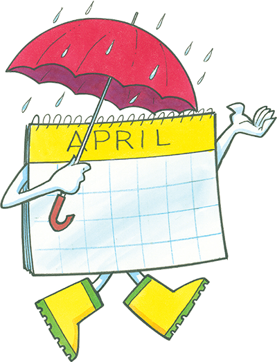 Promotional Ideas for April